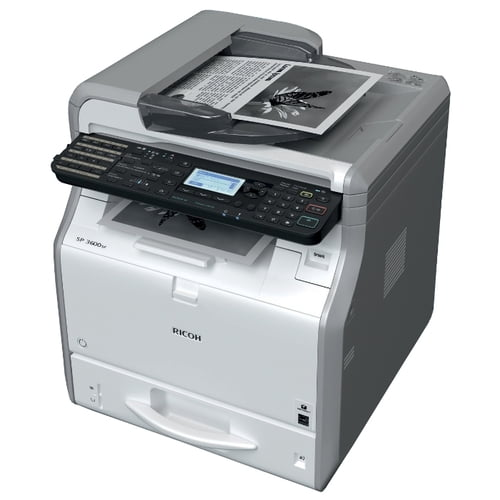 Клик контракт Ricoh Aficio SP3600SF